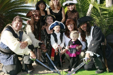 picture of a Pirate Birthday Party