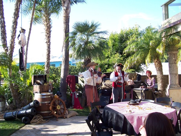 Pirate Themed Event Planner