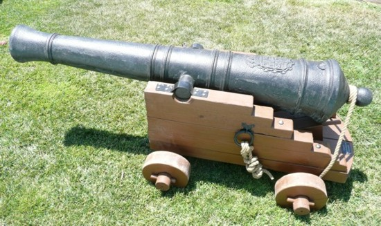 pirate cannon for rent or for sale
