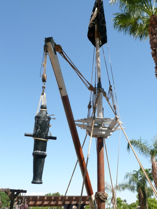 pirate ship mast