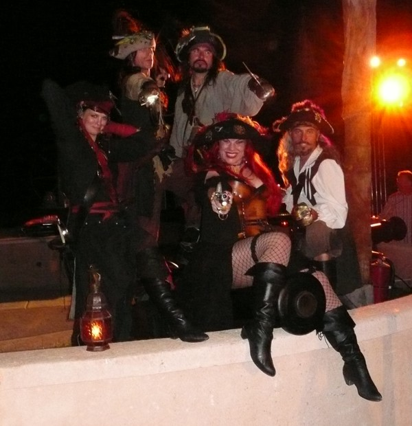 Pirate Party With Jack Sparrow At Long Beach Ca
